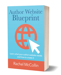 Author Website Blueprint 3d rendering of book