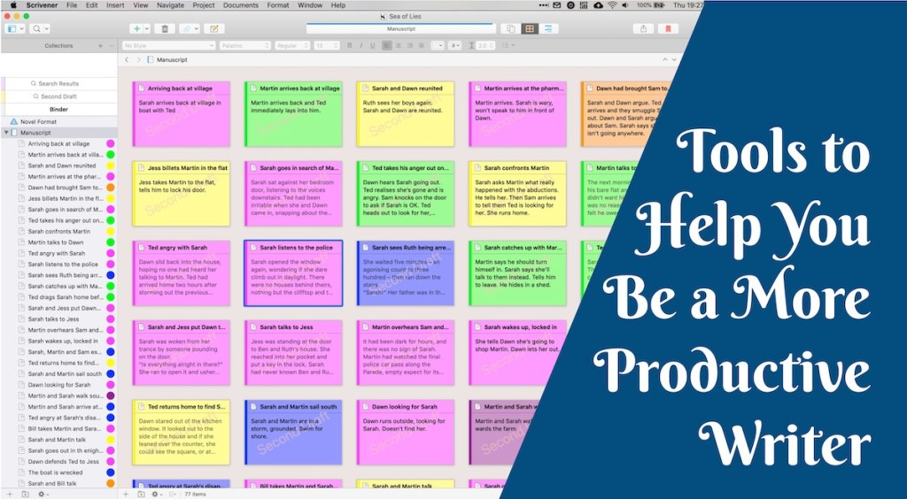Tools to Help You Be a More Productive Writer