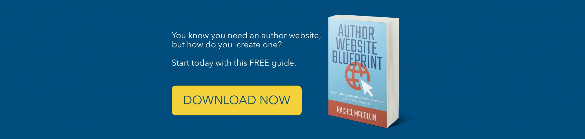 Author Website Blueprint - FREE book