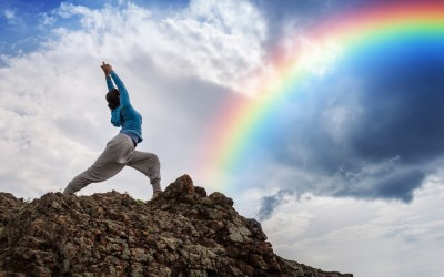 How to use the RAINBOW Method for Sensory Distraction to combat Panic and Anxiety