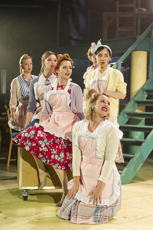 Ensemble Ladies Pajama Game, MA Musical Theatre, Mountview [2018]