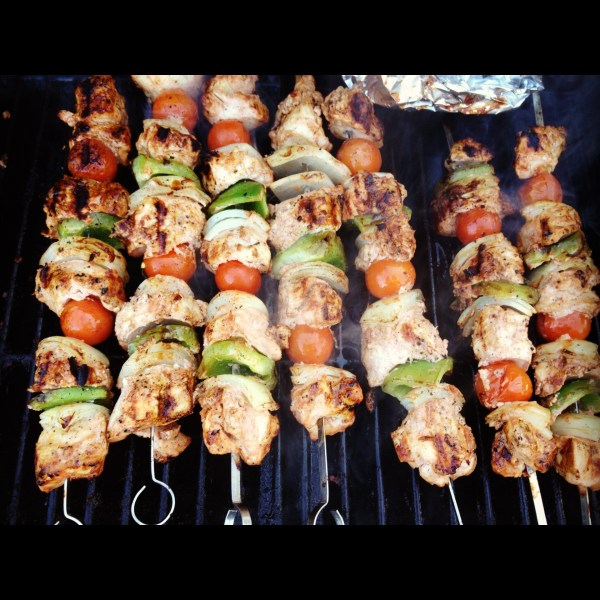 Chicken Kabobs All the noms