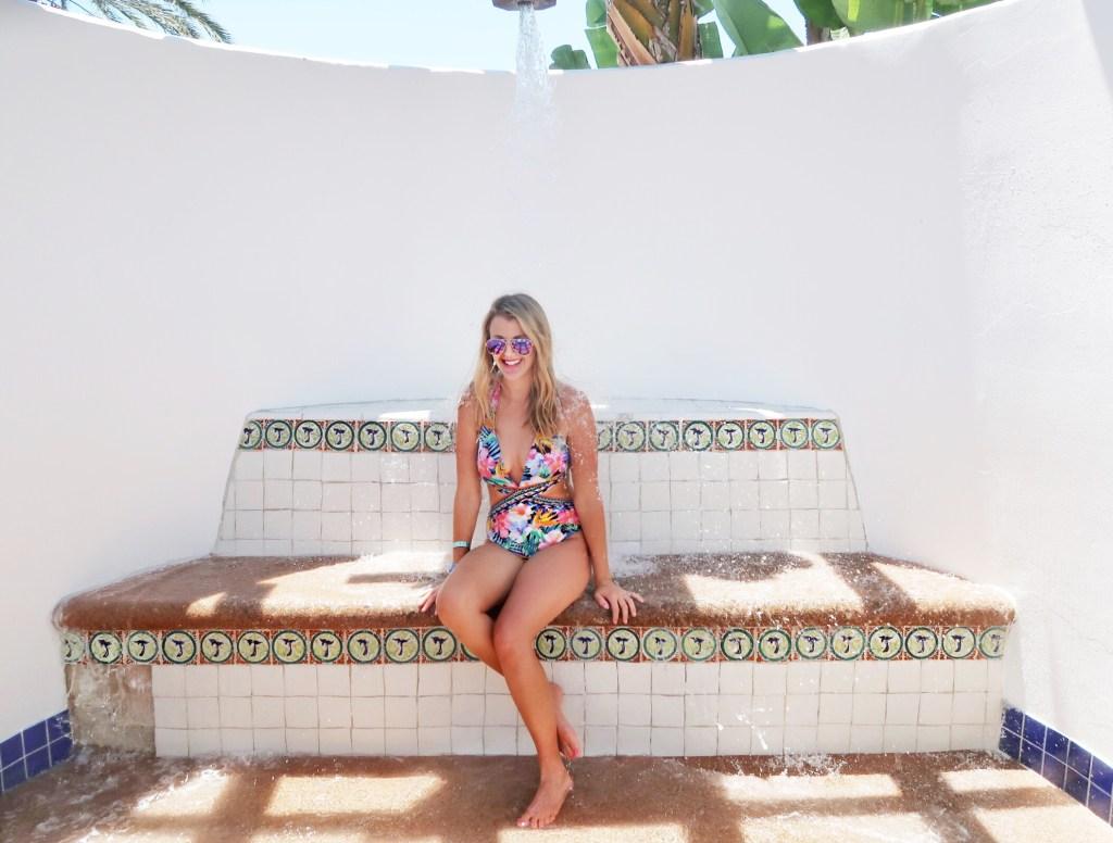 Omni La Costa Spa Pool Outdoor Shower