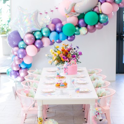 The Most AMAZING Magical Rainbow Birthday Party Ever!