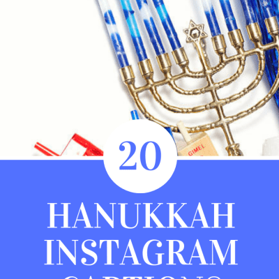 20 Hannukah Insta Captions!