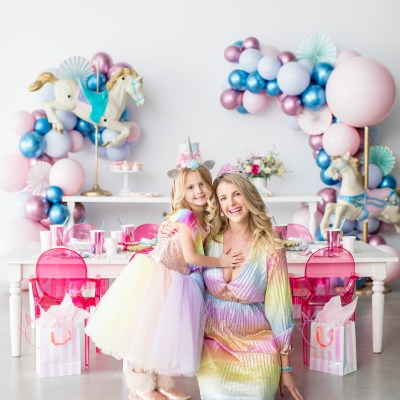 Harper's Magical Carousel Dress-Up Birthday Party!