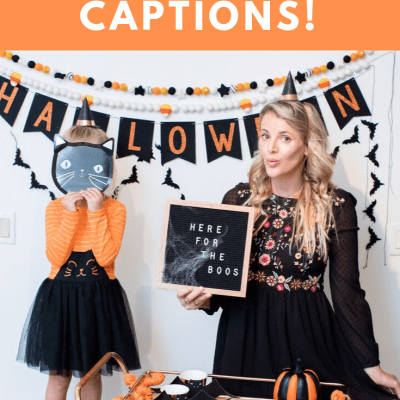 50 Instagram Captions for Halloween!