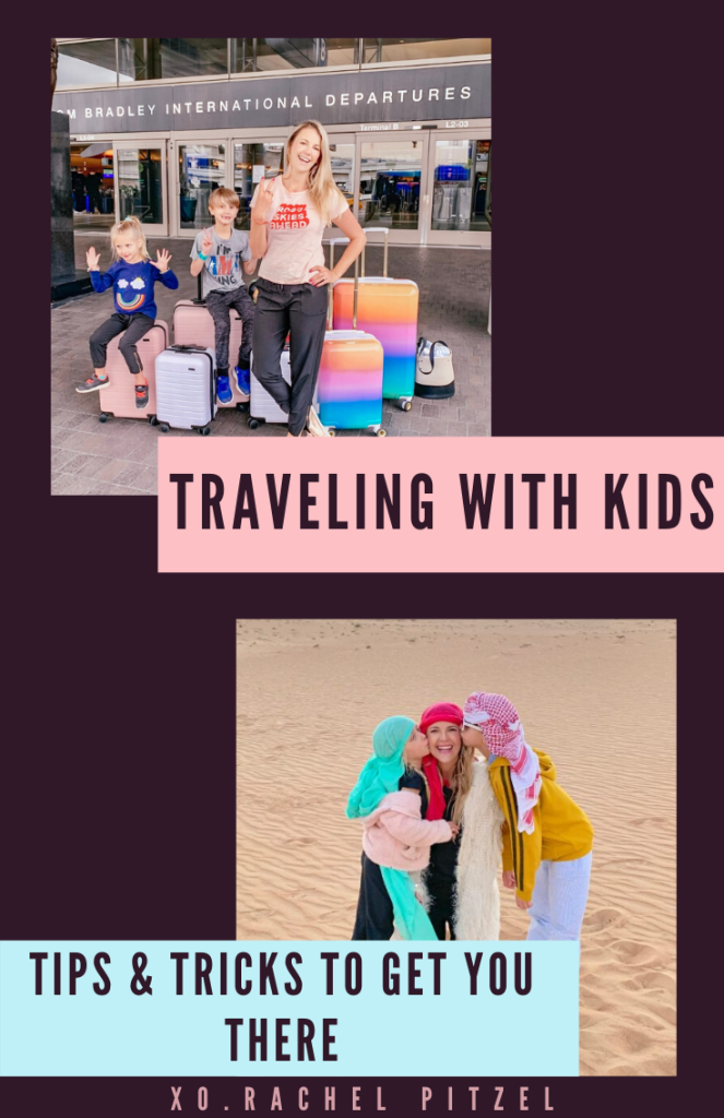 Rachel Pitzel shares tips on traveling with kids