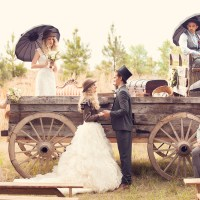 Wild West Inspired Wedding: Benton, Louisiana