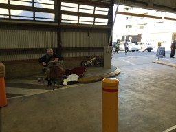 This elderly man played the cello as I walked into the markets. A lovely welcome.