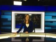 My first ABC News 24 bulletin