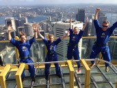 NBK on top of Sydney Tower Eye