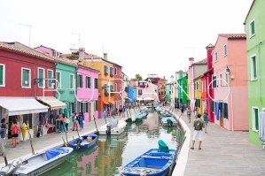 Burano: A rainbow of houses