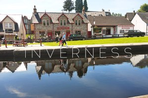 Inverness, Fort Augustus: Around town