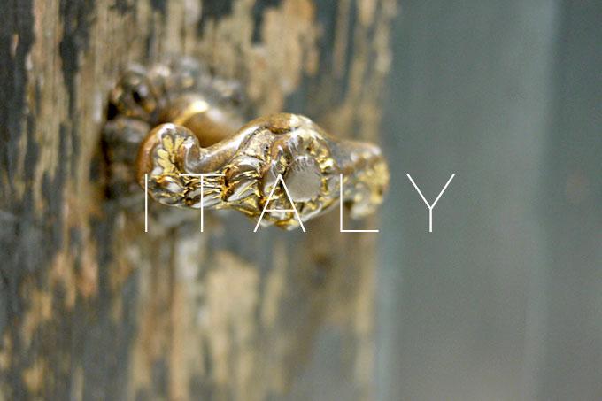Italy: Doorknobs
