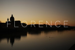 Florence: Around town