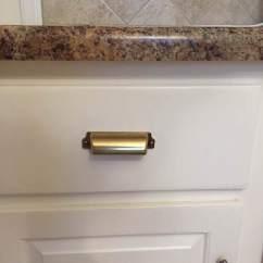 Brass Kitchen Hardware Faucets Oil Rubbed Bronze Rachel Schultz Black Vs Cabinet From