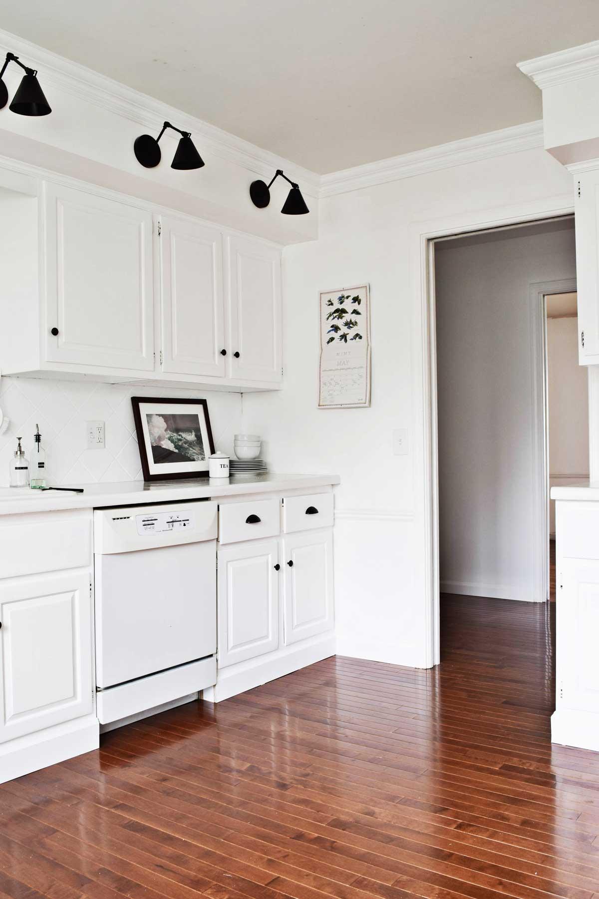 Rachel Schultz Building Out The Toe Kicks On Kitchen Cabinets