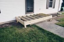 Rachel Schultz Wrapping Concrete Porch In Wood