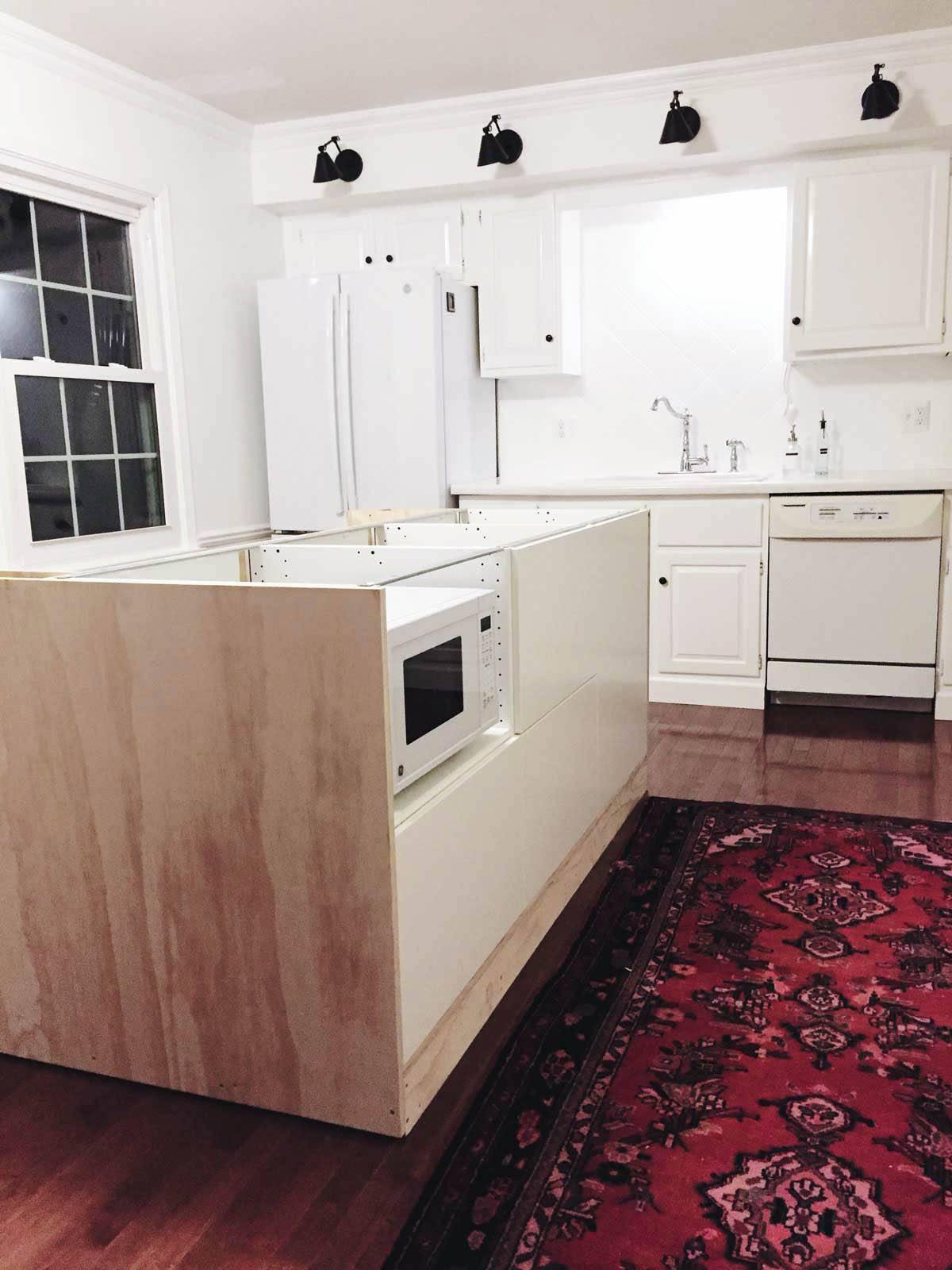 rachel schultz a diy kitchen island