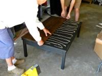 Rustic Farmhouse Coffee Table DIY | Rachel Schultz