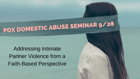 PDX Domestic Abuse Seminar, 9/28/17 | RachelShubin.com