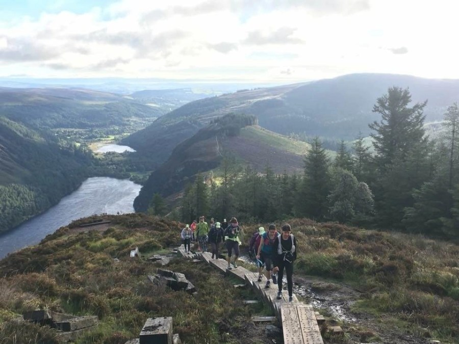 Glendalough Spinc Trail County Wicklow Ireland East