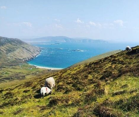 Achill Island - top 10 trail routes hiking and trail running in Ireland