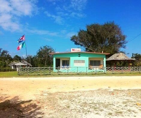 Casa particular on Cuban beach