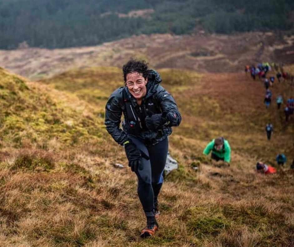 Wild weather in Connemara during the Gaelforce Mountain Run 2020