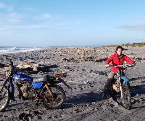 Dirt biking in New Zealand