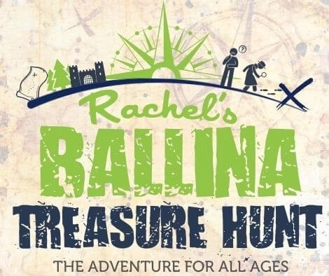 Ballina Treasure Hunt Belleek woods with backgroud
