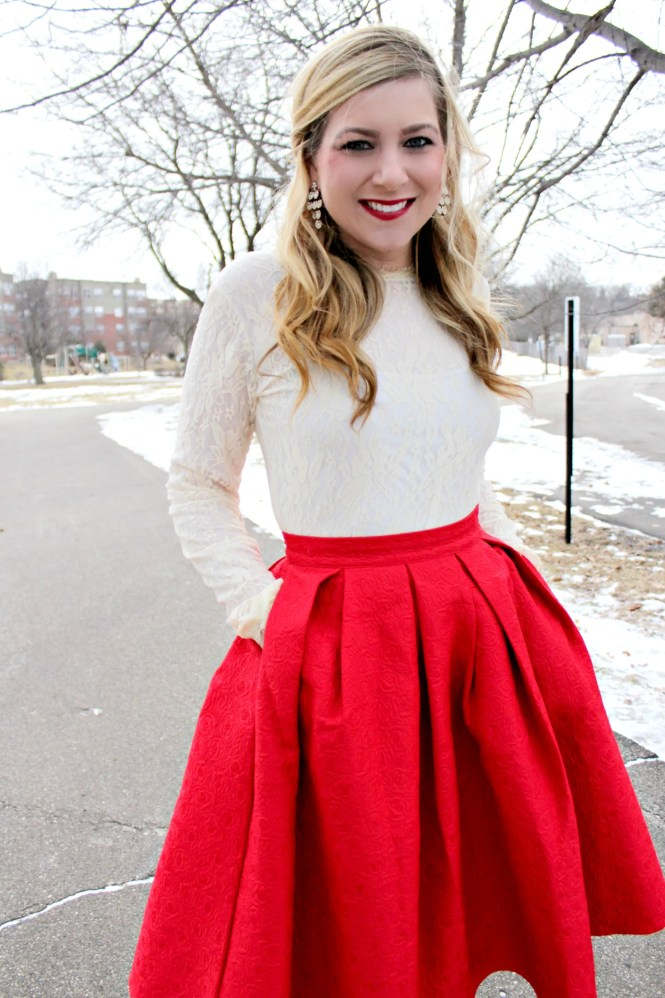 Full Midi Skirt With Pockets - Skirts