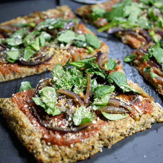 Detoxinista Pizza Crust