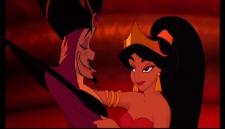 aladdin and red