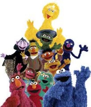 sesame muppets
