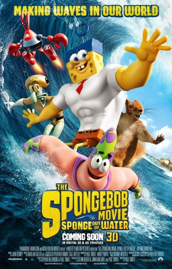 The Spongebob Movie Sponge Out of Water 3D