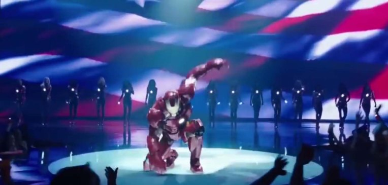 best shot iron man2