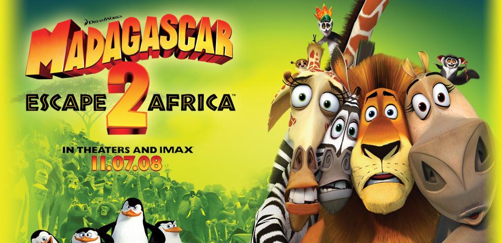 Dreamworks 15 Madagascar Escape 2 Africa