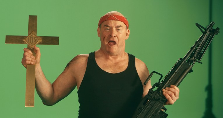 "Actor David Koechner in the film ""Faith Based"". Courtesy photo"