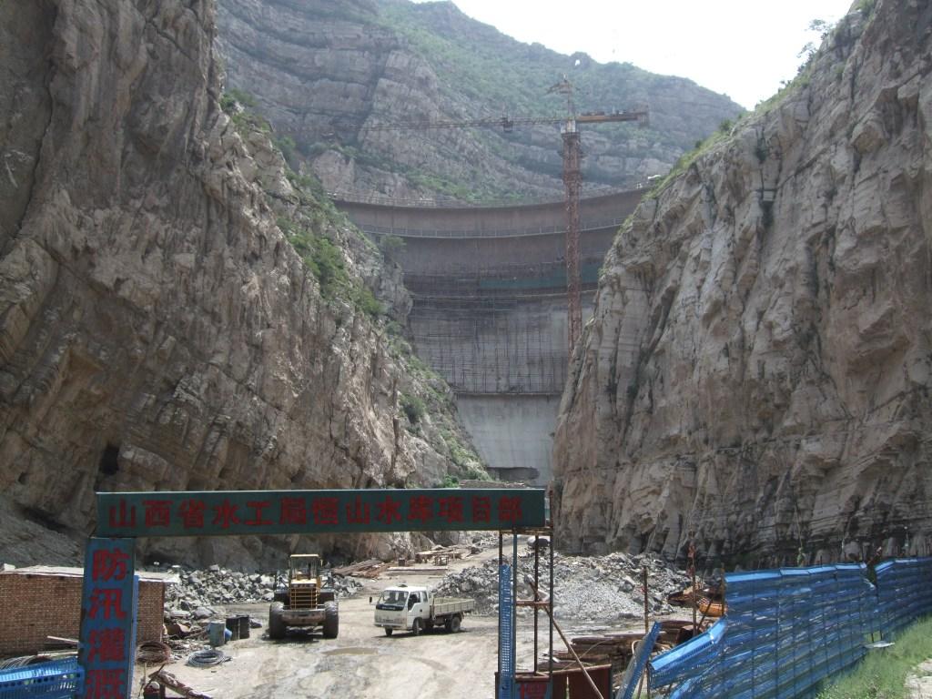 dam above the hanging monastery