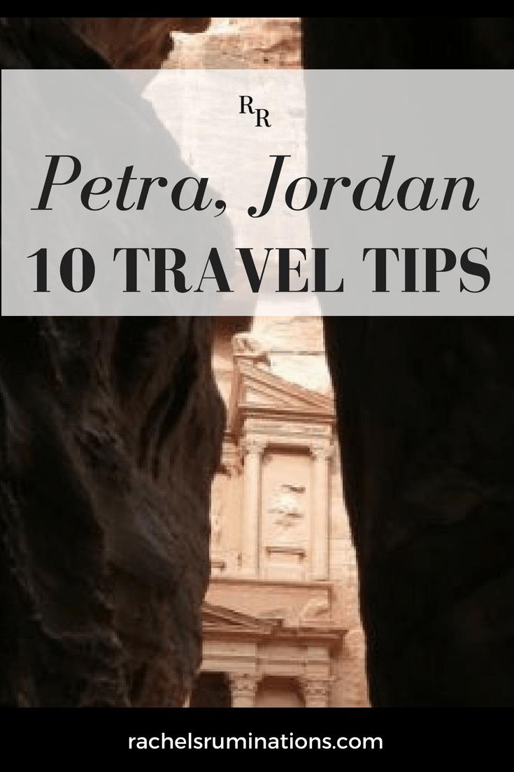 Petra, Jordan Travel Tips