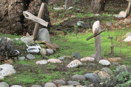 Carmel mission graves