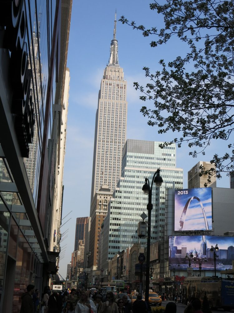 the Empire State Building: New York City on a budget
