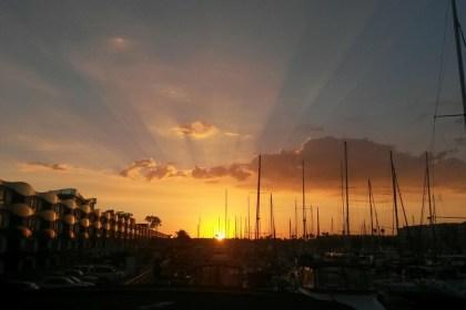 Marina del Rey sunset. Photo by Yesenia Hinnaoui via Trover