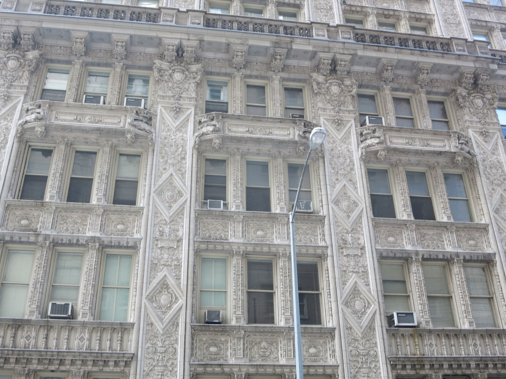 Wonderfully-detailed architecture in New York City