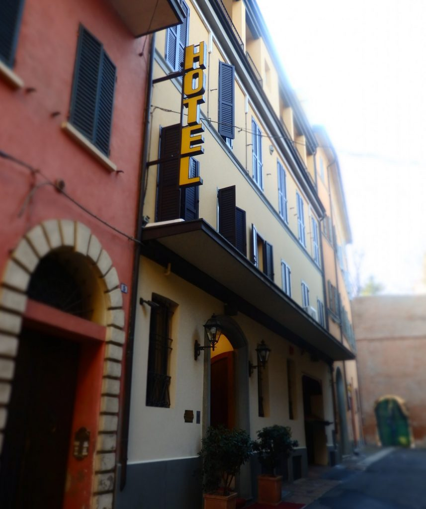 The Hotel Touring is located on a narrow side street, which means it is remarkably quiet for a city location.