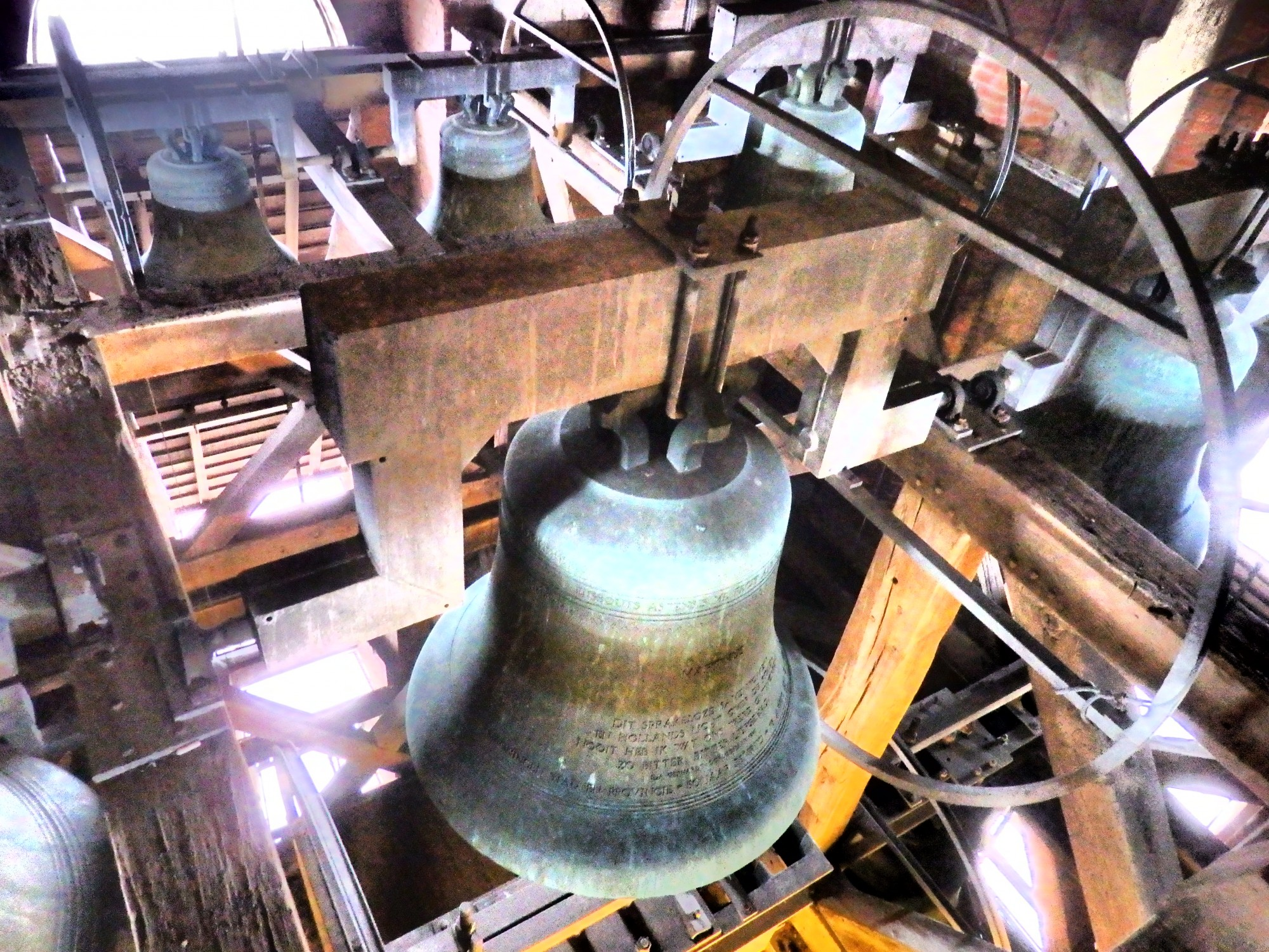 Some of the bells in the Martinitoren