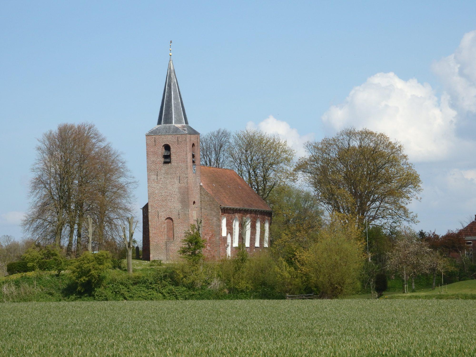 Eenrum church in Groningen province