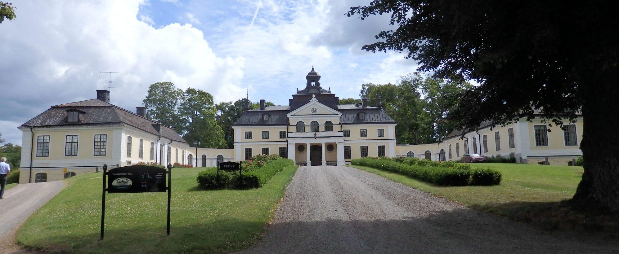 front view of Sparreholms manor, Sormland, Sweden
